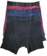Men's Stashitware Secret Pocket Underwear, Boxer Briefs, Black, Blue, Re... - $34.00