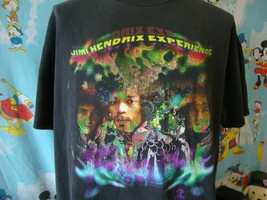 Vintage 90's The Jimi Hendrix Experience BBC Sessions T Shirt XL  - $178.19