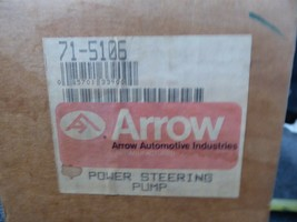 71-5106 Toyota Power Steering Pump Remanufactured By Arrow Cressid 1983-84 image 2