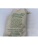 Wooden 25 Piece Mathematical Magic Puzzle by House of Marbles - $7.50