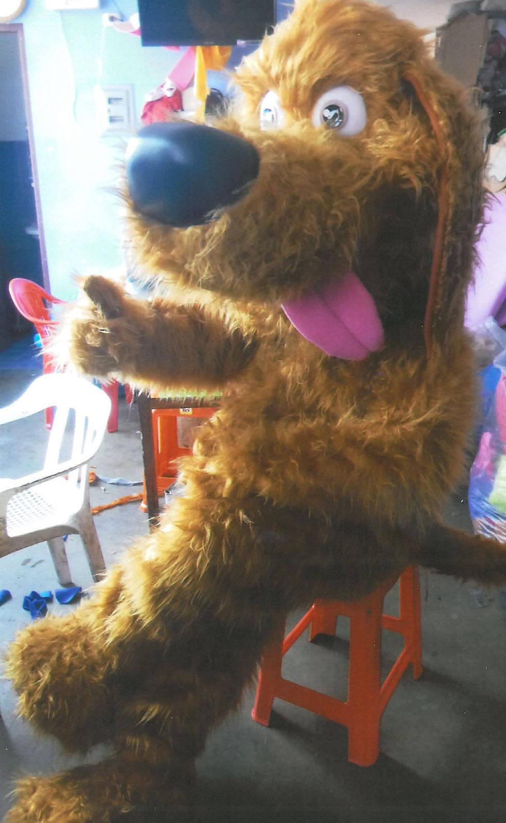 Stray Dog Mascot Costume Adult Dog Costume For Sale