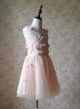 Flower Girl Dress, Sleeveless High Waist Girl Dress Princess Dress - Blush Pink  image 6