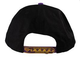 Diamond Supply Co DL-LA Black Yellow Snapback Cotton Hat White Logo Embroidered image 4
