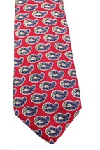 "Robert Talbott Burgundy Paisley Tie 3 3/4"" wide BIG T Label Hand Sewn - $28.71"