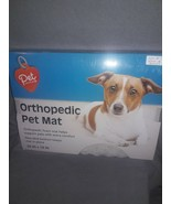 Pet Central Orthopedic Foam Pet Mat SZ-29 x 18 Non Skid Bottom  NEW Silv... - $14.85