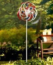 Double-Spiral Solar Spinner- Patriotic - $36.92