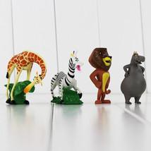 4PCS/SET Madagascar Alex Gloria Marty Stock Melman Action PVC Figure Toy... - $11.50