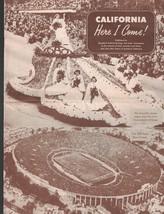 California Here I Come 1950 Brochure Standard Federal Savings & Loan - $16.02
