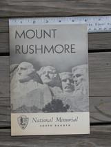 1958 MOUNT RUSHMORE Official Nat'l Memorial Sou... - $12.99