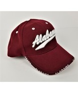 ALABAMA Ball Cap/Baseball Hat - Crimson & White - Puff Embroidery-NWOT - $17.64