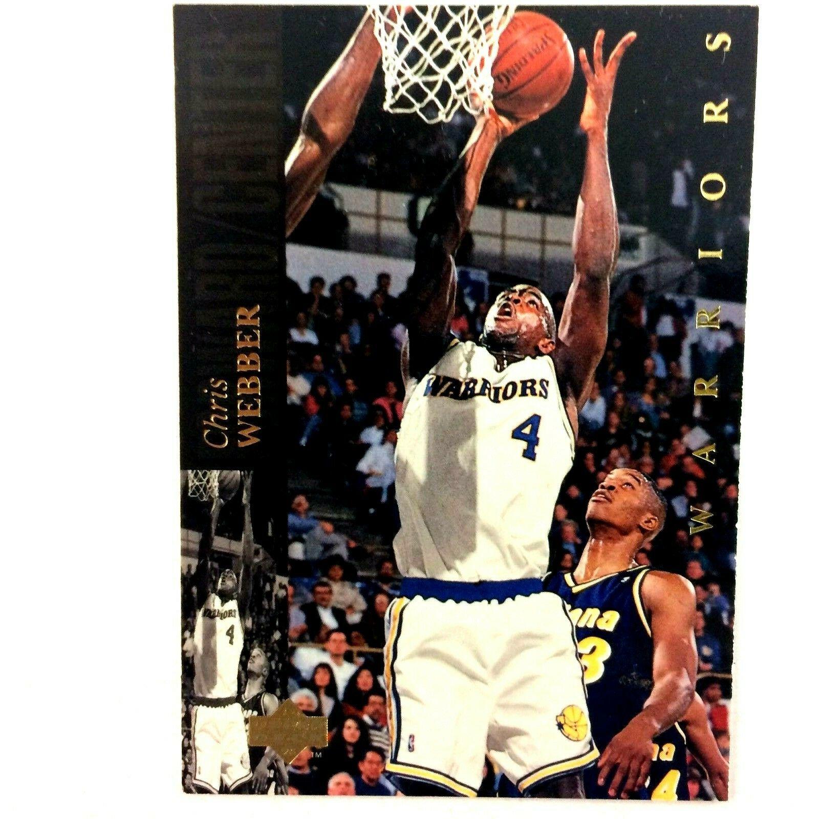 Chris Webber 1993-94 Upper Deck SE Rookie Card #4 NBA Golden State Warriors - $2.92