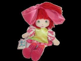 Vintage Applause Piroette Doll Rock N Rag Spacey Tracey Plush Barbara York - $19.79