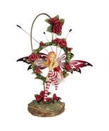 """""""Radiant Rose"""" Dangling Fairy Sculpture with Stand - $40.52"""