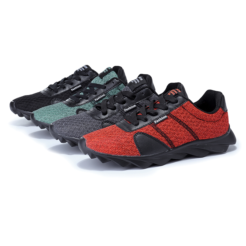 Men's Outdoor Casual Athletic Sports Fashion Lace-up Breathable Running Hiking S