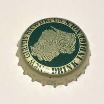 New Glarus Brewing Green Thumbprint Beer Bottle Crown Cap New Glarus Wis... - $2.65