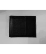 Genuine Leather Men's Bi-Fold Wallet- #60 BLACK - $15.00