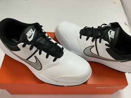 NEW Nike Durasport 4 Golf Shoes Black/White/Silver 844550-100 Men's Size... - $44.80