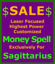 Billionaire Customized High Magick for Sagitarius + Money Love Protection Spell - $119.50