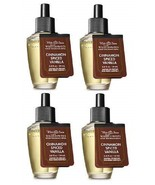 White Barn Cinnamon Spiced Vanilla Wallflower Fragrance Refill Bulb - Lo... - $31.50