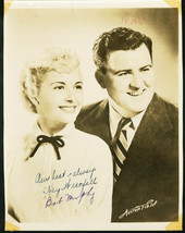 KAY WESTFALL/BOB MURPHY-SIGNED 8X10-AUTOGRAPHED PHOTO FN - $36.38