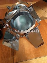 New Hollywood Search Light Spotlight Chrome Lamp By NauticalMart - $88.11