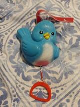 Fisher Price Vintage 1968 BLUEBIRD MUSIC BOX Children's Prayer 189 Worki... - $20.35
