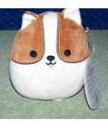 "Squishmallows  REGINALD the CORGI DOG 4.5""H NWT - $8.50"
