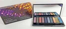 AVON Luxe Clutch Eyeshadow Palette Eyeshadows 10 Great Shades DISCONTINUED - $12.86