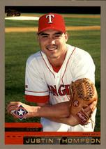 2000 Topps #357 Justin Thompson Texas Rangers - $0.99