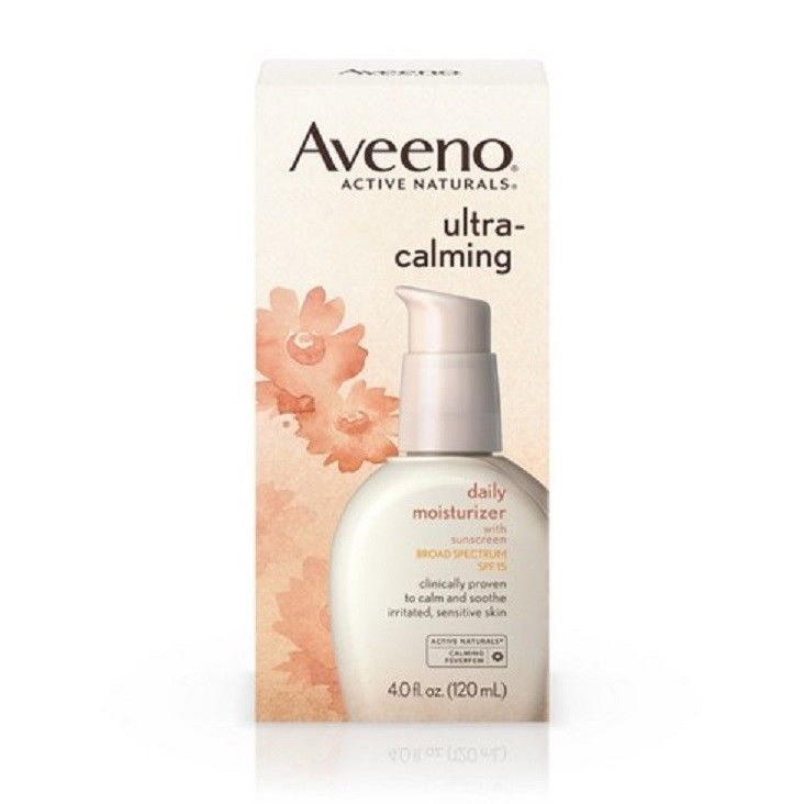 Aveeno Ultra-Calming Daily Moisturizer with Broad Spectrum SPF 15, 4oz