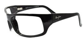 Maui Jim MJ-202-02 Peahi Men's Sunglasses Black 65 mm Wraparound FRAME ONLY - $54.80