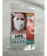 N95 RESPIRATOR MASK VIRAL INFECTION PROTECTIVE BARRIER - $10.99
