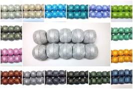 Size 20 LOT 10 Cotton Lurex Jari Yarn Shiny Thread Crochet Knitting Embr... - $2.47+