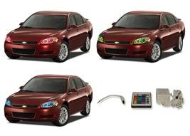 for Chevrolet Impala 06-12 RGB Multi Color IR LED Halo kit for Headlights - $137.91