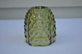 Fenton Hobnail Colonial Green Fairy Light Top Only #3608 CG - $9.90