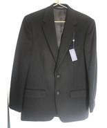 NWT Club Room 38 R Black Wool Silk Cashmere Blend Blazer Sportcoat Regul... - $68.40