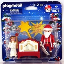 Playmobil Santa Claus with Organ 12pc Set #5875 - $9.99
