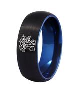 Kentucky WildCats NCAA University Team Logo Tungsten Carbide Fit Ring Bl... - $34.90+