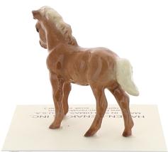 Hagen-Renaker Miniature Ceramic Horse Figurine Chestnut Shetland Pony Colt image 3