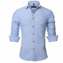 2018 New Arrival Antumn and Winter Mens Fashion Shirt Men's Long Sleeve Shirt Ge - $40.60