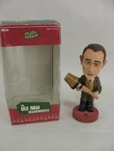 A Christmas Story Old Man Leg Lamp Head Knocker Bobblehead In Box - $12.86