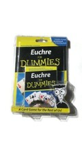 Euchre for Dummies Card Game COMES WITH 24 Page Guidebook & Teaching Dec... - $10.07