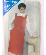 Butterick 5048 See and Sew Misses Jumper Sewing Pattern Size A 8,10,12,1... - $7.00