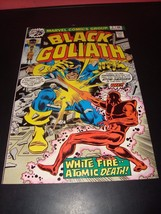Black Goliath #2 Marvel Comic Book From 1976 VF (7.0) Condition White Fire - $3.59