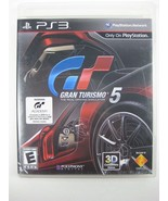 Gran Turismo 5 (Sony PlayStation 3, 2010) with manual - $9.40