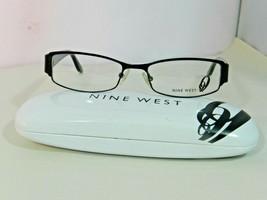 Nine West Women's Eyeglass Frames Rectangle Black NW438 0003  - $29.99