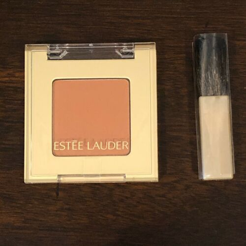 Primary image for Estee Lauder Cinnamon 21 Blush All Day Natural Cheek Color NEW WITH BLUSH BRUSH