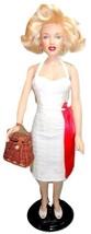 "RARE Franklin Mint Marilyn Monroe Hollywood Walk of Fame 16"" Doll w/Re-R... - $199.96"