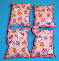 Cat Catnip Pillow Toy - Hand Made Pink Hello Kitty Patterns Rectangle - ... - $5.50