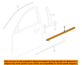 Chevrolet GM OEM 13-15 Malibu Door Moulding Belt Molding Front 22993715 New - $29.97